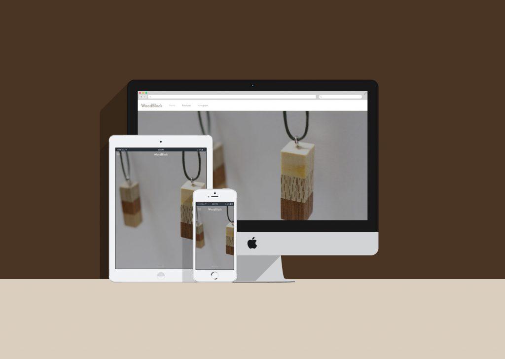 【WEB】ハンドメイドアクセサリー向けホームページ制作