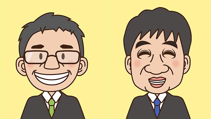 浜松商工会議所様似顔絵制作